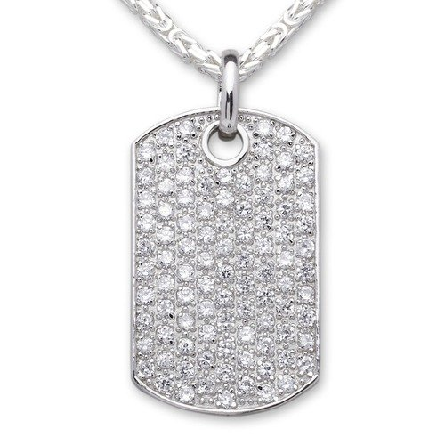 Dog-Tag Anhänger 925 Sterling