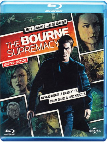 The Bourne supremacy (reel heroes - limited edition) [Blu-ray] [IT Import]