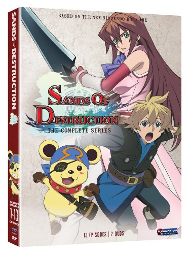Sands of Destruction: The Complete Series Luci Christian Todd Haberkorn Eric Vale Funimation Prod