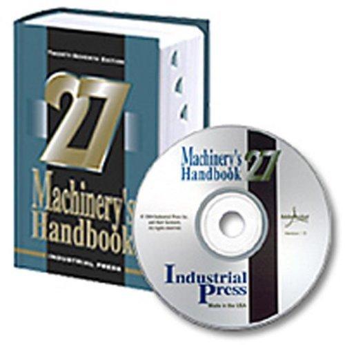 Machinery's Handbook (Machinery's Handbook (Large Print W/CD)) by Jones, Franklin D, Ryffel, Henry H, Oberg, Erik, McCauley, C (2004) Hardcover