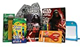 STAR WARS Coloring Arts and CraftsアクティビティBundle IncludingカラーリングBook ,クレヨン、マーカー、はさみ、鉛筆、鉛筆ポーチと巾着バッグto