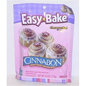 Easy Bake Oven Kids Favorite Cinnabon