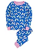 Hatley Little Girls' Pajama Set Overall Butterflies
