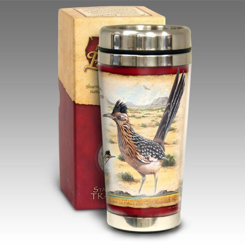 Roadrunner Travel Mug<br>16-oz Steel <br>American Expediton