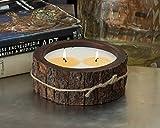 Himalayan Candles Tree Bark Candle, 26 oz., Grapefruit Pine