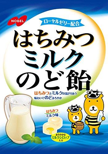 ノーベル はちみつミルクのど飴 110g×6個