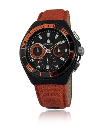 Burgmeister Reloj de cuarzo 609-629B Naranja 42 mm