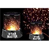 Shag Star Master Projector With Usb Wire Turn Any Room Into A Starry Sky Colorful Romantic LED Cosmos Star Master Sky Starry Night Projector Bed Light Lamp For Kid's Christmas Gift LED Cosmos Star Master Sky Starry Night Light Lamp Projector Space Solar S