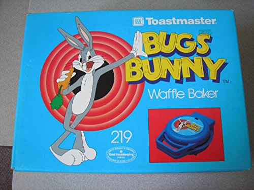 Toastmaster Bugs Bunny Waffle Baker 219 (Toastmaster Plate compare prices)