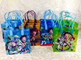 12PC TOY STORY GOODIE BAGS PARTY FAVOR GIFT BAGS
