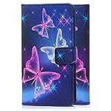 tinxi® Kunstleder Tasche für Wiko Sunset 2 Tasche Schutz