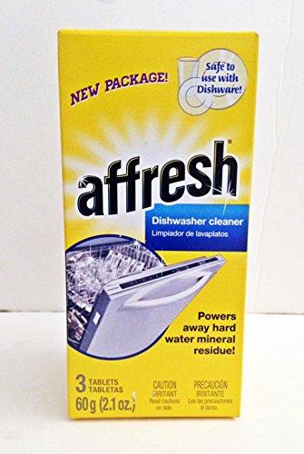 Affresh Dishwasher Cleaner 3 Tablets 2.1 Oz Box front-331401
