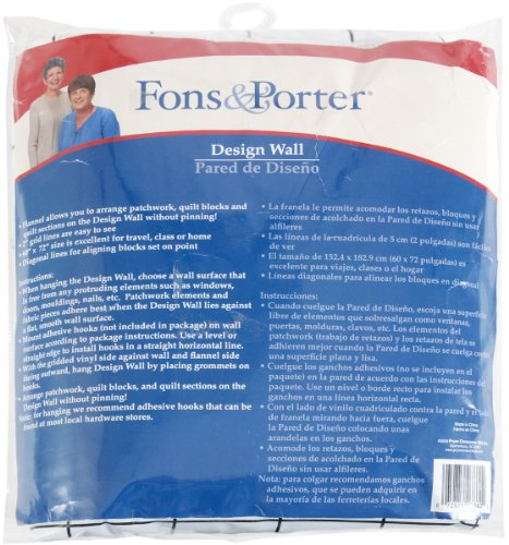 Lowest Prices! Fons & Porter 60-Inch-by-72-Inch Design Wall