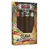 Cuba Collection By Champs For Men. Gift Set (Contains Eau De Toilette Spray 1.17 Oz / 35 Mlcuba Black & Brown & Green & Grey).