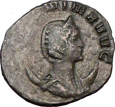 SALONINA Valerian I daughter in law Roman Coin VENUS CUPID Love Cult God i22302 (Venus God Of Love)