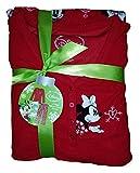 Disney Minnie Mouse Red 2 Piece Micro Fleece Pajama Sleep Set