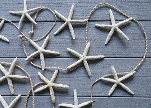 Tropical Starfish Garland - 12 Starfish