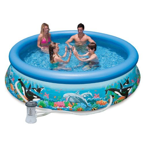 Mac due intex 28136 piscina easy oceano con pompa filtro - Amazon piscine gonfiabili ...
