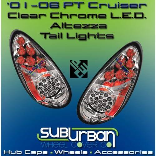 Lights Chrome LED Taillights 2002 2003 2004 2005 2006 02 03 04 05 06