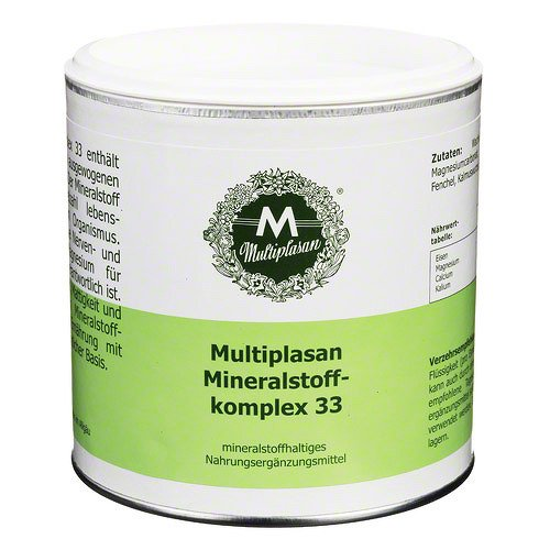Plantextrakt Multiplasan Mineral Komplex 33, 300 g