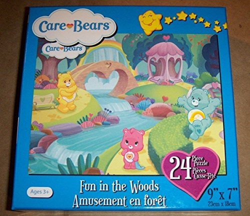 "Care Bears Puzzle "" Fun in The Woods"" 24 Pieces 9"" x 12"" Box - 1"