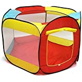 Ball Pit Play Tent for Kids - 6-sided Playhouse for Children - Fill with Plastic Balls or Use As an Indoor or Outdoor Tent (Balls Sold Separately) By Kiddey™