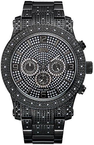 JBW Reloj con movimiento cuarzo suizo Man Lynx Negro 46 mm