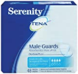 Tena Serenity for Men, Discreet Bladder Protection, 48-Count Package