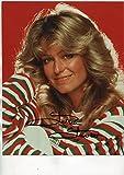 "FARRAH FAWCETT gorgeous ""Charlie's Angels"" young signed 8x10"" photo / UACC Registered Dealer # 212"