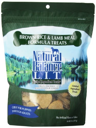 Natural Balance Limited Ingredient Treats Lamb & Brown Rice - 14 Oz