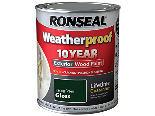 ronseal-rslwprgg750-750-ml-weatherproof-exterior-wood-paint-racing-green-gloss