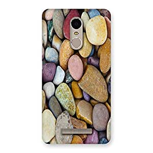 Unicovers Colorful Stones Back Case Cover for Xiaomi Redmi Note 3