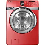 Samsung WF410ANR 4.3 cu. Ft. High Efficiency Front-Load Washer - Tango Red