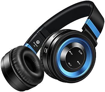 Sound Intone P6-BB Over-Ear Wireless Bluetooth Headphones