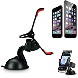 Able® Universal In Car Windshield Mount for Samsung Galaxy Note 2 / Note 3 / S3 / S4