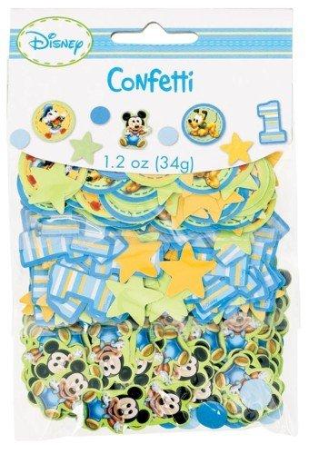 Mickey 1st Birthday Confetti