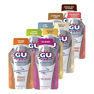 GU Energy Labs Original Sports Nutrition Energy Gel, Variety Pack, 24 Count