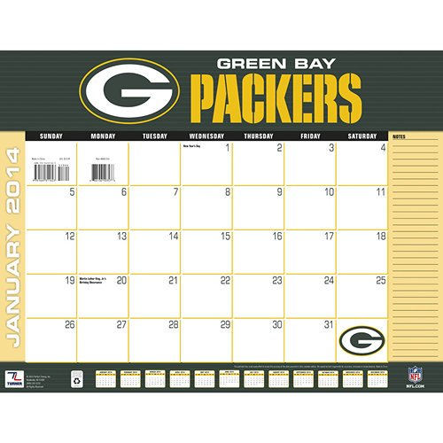 Green Bay Packers 2014 Desk Pad at Amazon.com