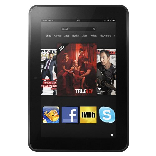 Certified Refurbished Kindle Fire HD 8.9 4G LTE Wireless, Dolby Audio, Dual-Band Wi-Fi, 64 GB - Includes Special Offers