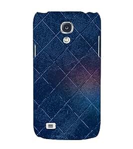 Square Pattern 3D Hard Polycarbonate Designer Back Case Cover for Samsung Galaxy S4 Mini i9190