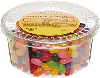 Office Snax OFX70013 Gourmet Jelly Bean Candy Tub, 2-Pound Tub