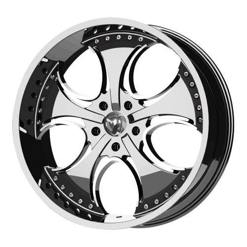 KMC Wheels Venom (Series KM7552) Chrome Finish - 20 X 8.5 Inch Wheel