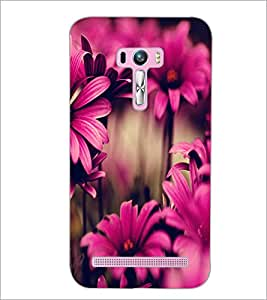 PrintDhaba Flower D-2035 Back Case Cover for ASUS ZENFONE SELFIE ZD551KL (Multi-Coloured)