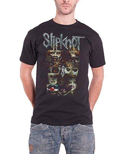 Slipknot スリップノットCreatures band logo クリーチャーズ・バンド・ロゴ 公式 メンズ ブラック 黒 Tシャツ 全サイズ