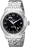 Ball Men's GM1020D-SCJ-BK Train Cleveland Analog Display Swiss Automatic Silver Watch