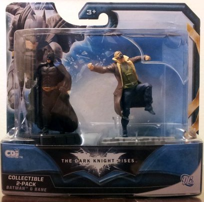 "DC Comic The Dark Knight Rises Collectible 2-Pack ""Batman & Bane"" at Gotham City Store"