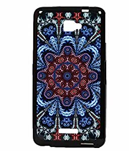 Traditional Design Exclusive Rubberised Back Case Cover For Panasonic Eluga S
