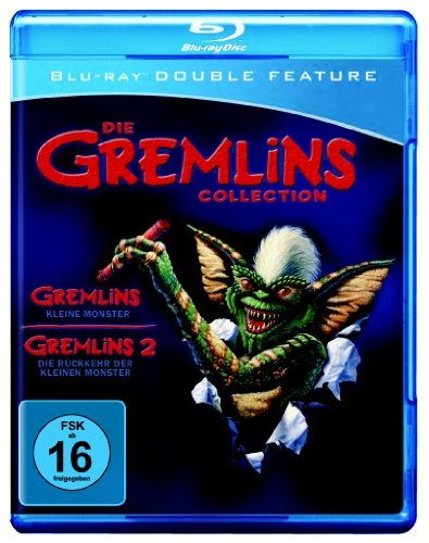 Gremlins 1+2 Double Feature Blu-Ray