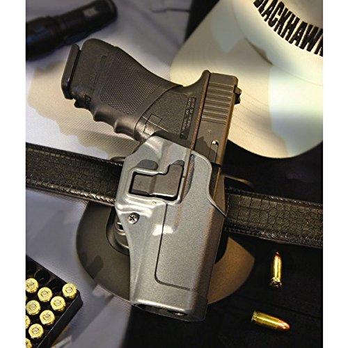 BLACKHAWK! Serpa CQC Gun Metal Grey Sportster Holster, Size 03