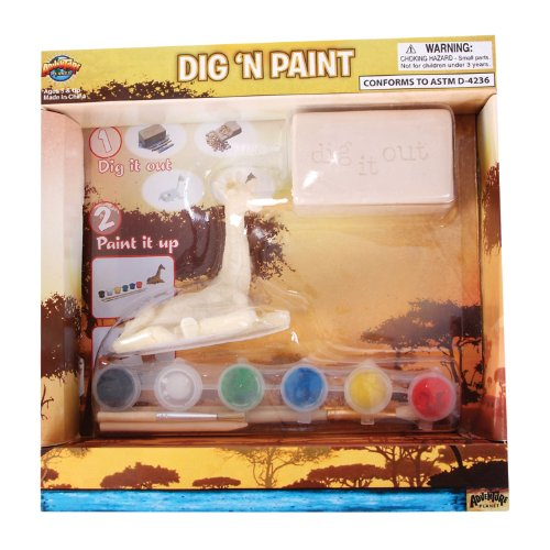 Adventure Planet Giraffe Dig N' Paint Kit - 1
